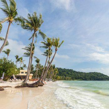 Bai Sao beach in Vietnam on Phu Quoc island