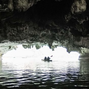 Dark and Bright cave kayak - Lan Ha Bay