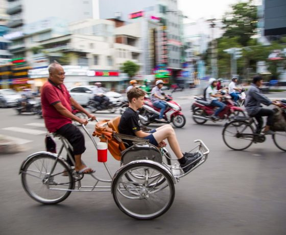 cyclo saigon