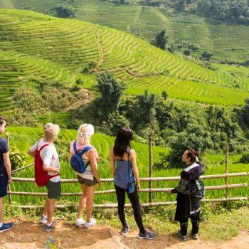 Vandring i Sapa med familien og de lokale